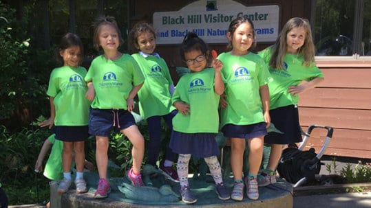 Field trips at a Montessori school in Maryland.